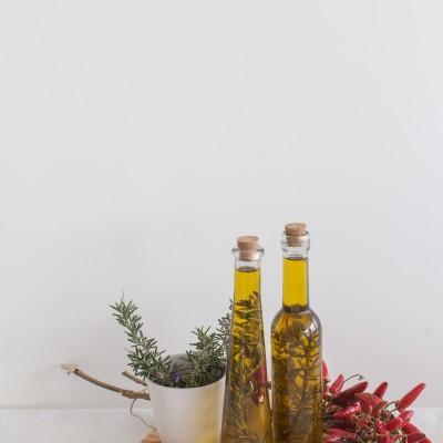 Azeite aromatizado: 10 regras básicas para obter um azeite aromatizado de qualidade  e 8 receitas