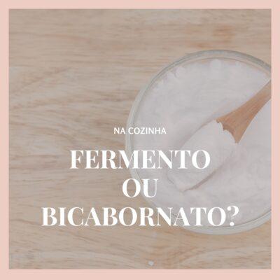 Fermento em pó ou bicarbonato de sódio? As principais dicas sobre levedantes