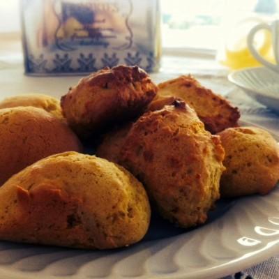 Biscoitos leves de limão