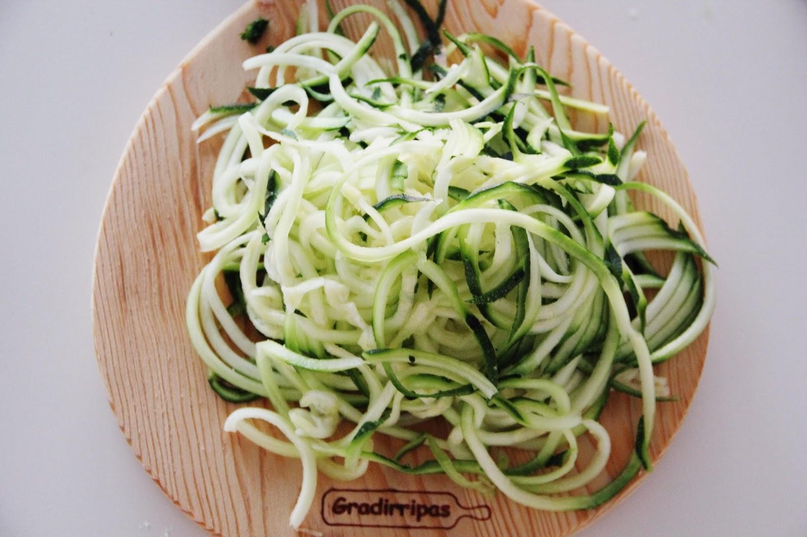 Esparguete de courgette2