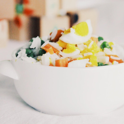 Arroz Primavera: um prato cheio de cor e sabor!