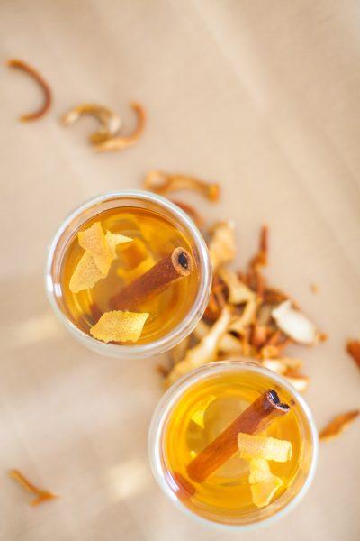 Infusão relax – de laranja e canela