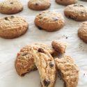 As minhas bolachas: bolachas (cookies) de baunilha com pepitas de chocolate