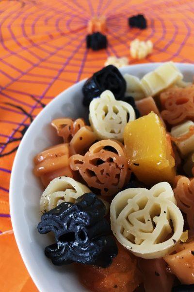 Halloween pasta – a massa assutadoramente deliciosa para miúdos e graúdos