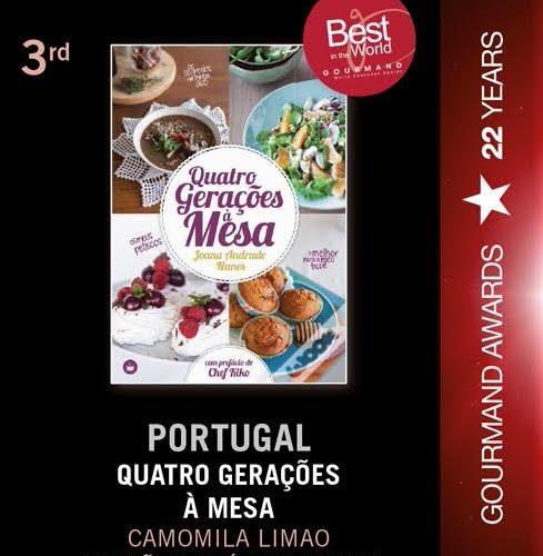 TOP 3 MUNDIAL: QUATRO GERAÇÕES À MESA