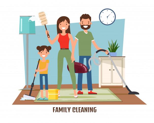 Tarefas domésticas para crianças: como distribuir as tarefas em casa