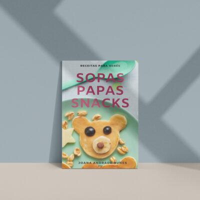 SOPAS, PAPAS E SNACKS – Receitas para bebés