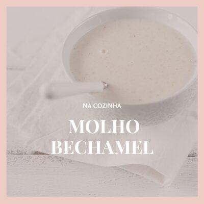 Molho bechamel (molho branco) perfumado com tomilho