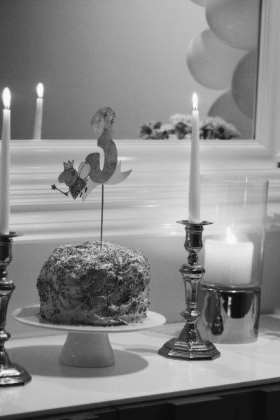 Um jantar intimista para celebrar o 3.º aniversário da minha princesa