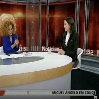 TVI 24 – com Conceição Queiroz
