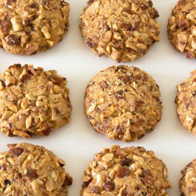 Biscoitos de claras com amêndoa