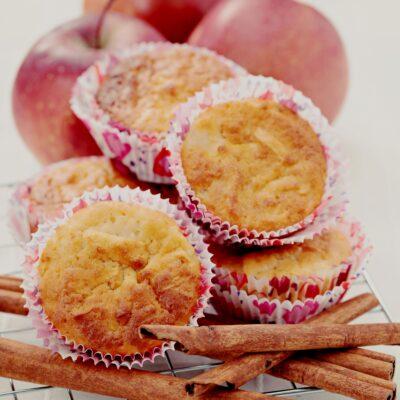 Muffins de maçã e especiarias: os bebés vão devorar!